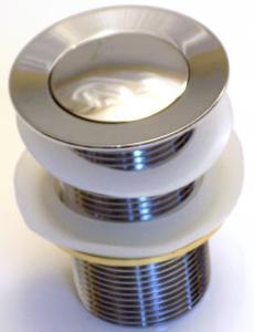 Automata leeresztő szelep fém, rugós