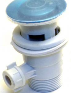 Automata leeresztő szelep műanyag (rúd nélkül)