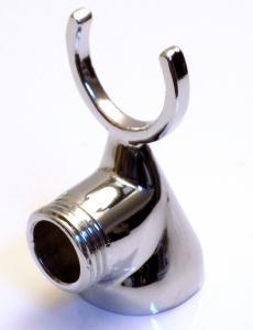 Zuhanytartó villa hagyományos kádcsaphoz