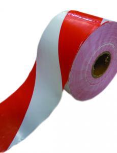 Jelölő szalag, piros/fehér