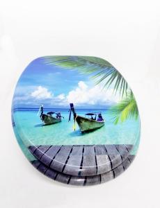 WC ülőke MDF fémzsanéros. Maui